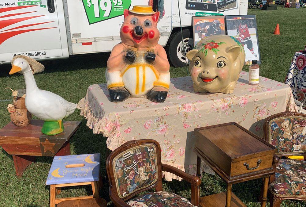 Union Grove Wisconsin Flea Market Saturday July 9, 2022