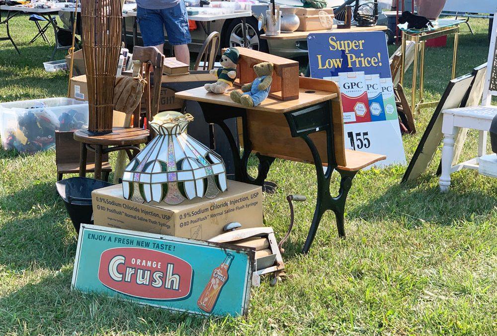Union Grove Wisconsin Flea Market Saturday August 27, 2022