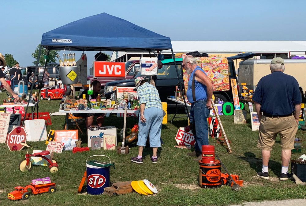 Union Grove Wisconsin Flea Market Saturday October 8, 2022